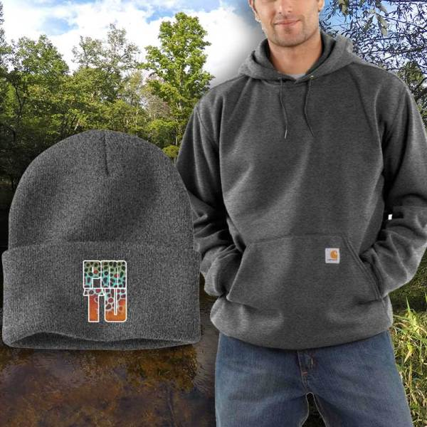 Carhartt cap and hoody