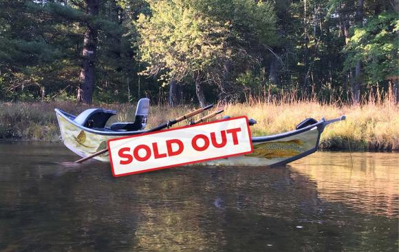 The driftboat raffle is SOLD OUT — drawing to be held May 8