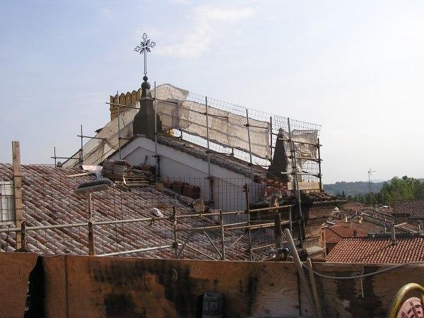 2009 – RISTRUTTURAZIONE MANTI COPERTURA CHIESA DEL CARMINE