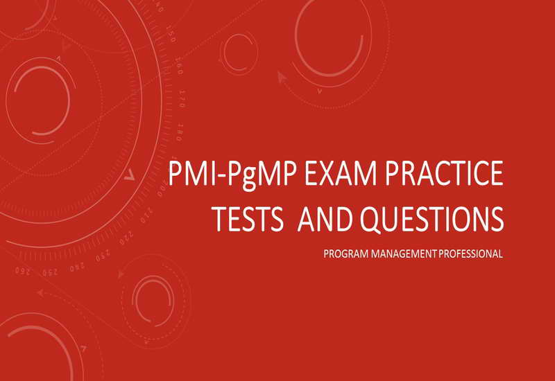PMI-pgmp Exam Practice Tests and Questions