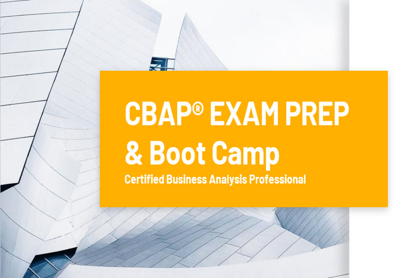 Cbap Certification Exam Preparation Cbap Training Course