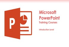 PowerPoint Training Course Introduction Level Classes