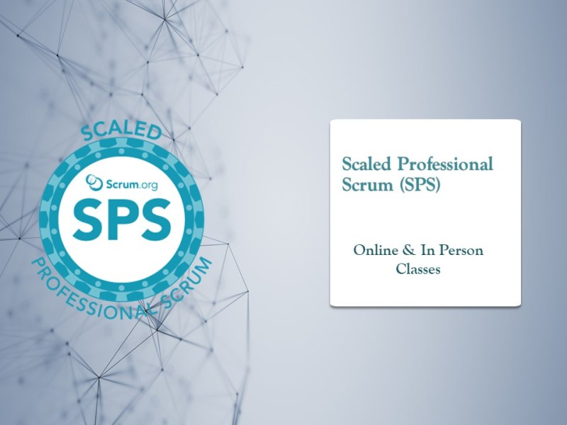 Scaled Professional Scrum (SPS) with Nexus course