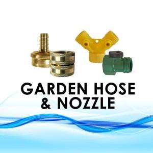 Garden Hose & Nozzle