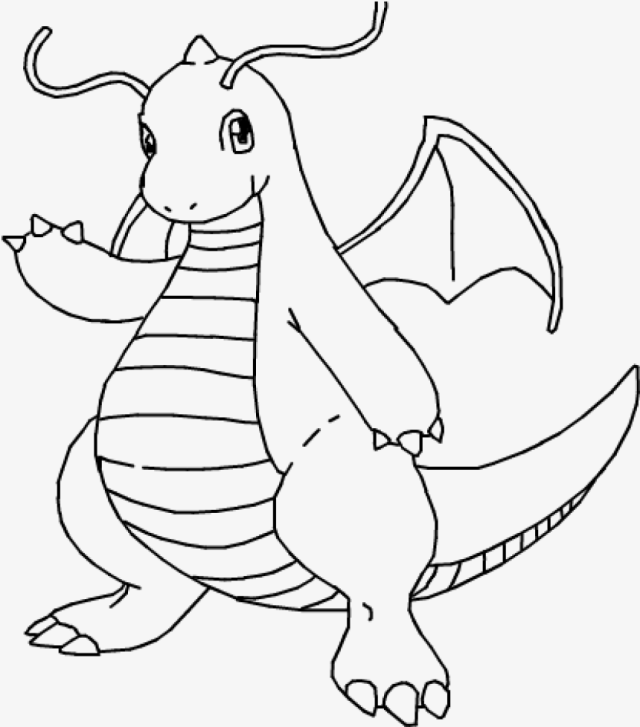 Dragonite Png, Dragon Knight Pokemon Coloring Pages, HD Png