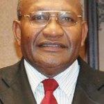 Leo Dion, PNG's Deputy Prime Minister