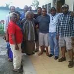 Some leaders of PNG 'ant corruption movement in the embrace of the Opposition leader
