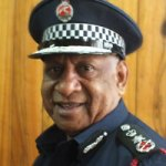 Disgraced  former Police Commissioner Sir Tom Kulunga