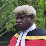 Deputy Chief Justice Gibbs Salika. Is this who Rut is referring to or...?