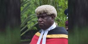 Deputy Chief Justice Gibbs Salika