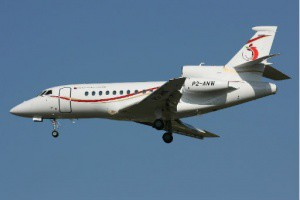 PNG Falcon Jet cost PNG 40 million.