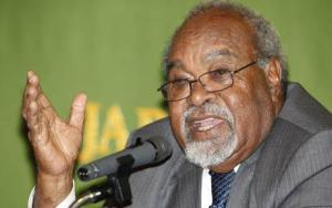 Sir Michael Somare the founf=ding father of corruption in PNG - still at it, after all this time.