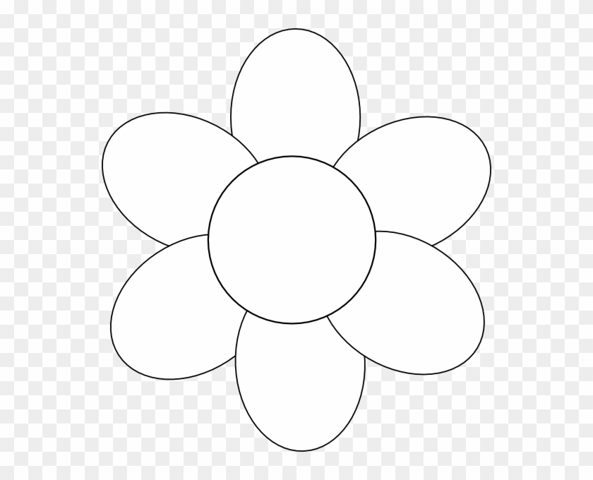 Flower Template Free Printable Mothers Day Flower Template Hd Png Download 552x600 3643 Pngfind
