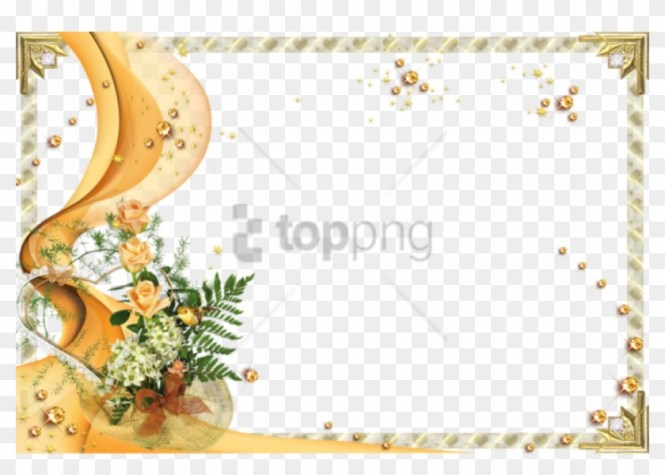 Free Png Blank Wedding Invitation Design Templates Simple
