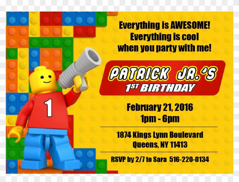 lego invitations hd png download