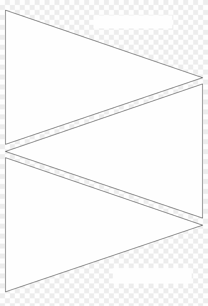 A sequential layout of triangles of alternate or same colour. 12 Free Printable Templates Pennant Banner Template Bunting Template Hd Png Download 960x1362 3047760 Pngfind