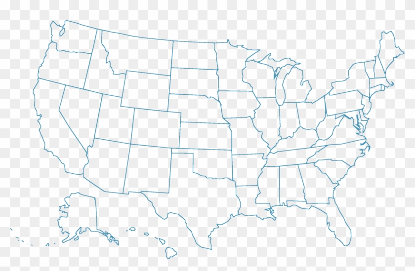 Are you wanting to learn how to print labels? Map Outline Usa States Not Labeled Hd Png Download 1600x1018 384547 Pngfind