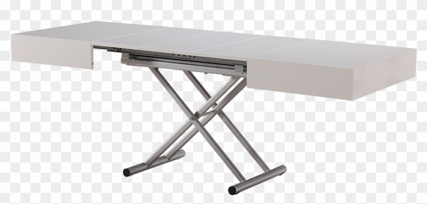 coffee dining table convertible white
