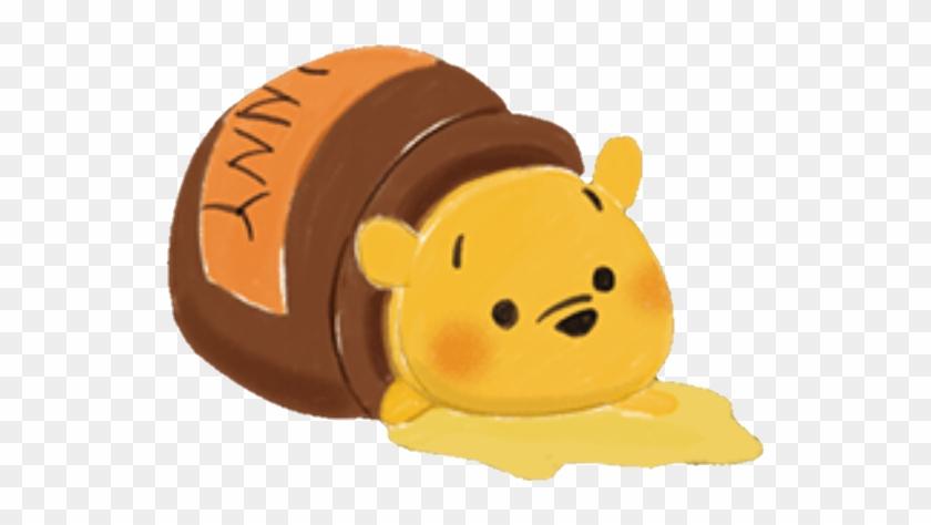 Winnie Winniepooh Winnie Pooh Disney Tsumtsum Pooh Bear Tsum Tsum Cartoon Hd Png Download 539x394 4938014 Pngfind