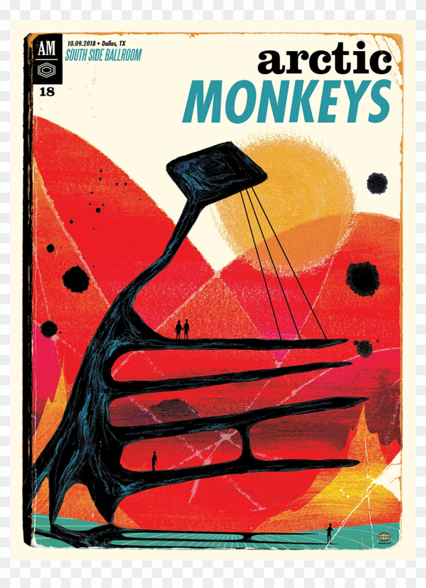 arctic monkeys 2018 gig poster hd png