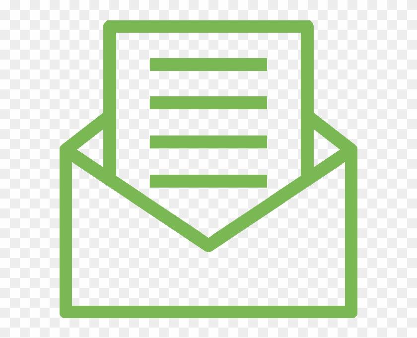 mail icon green invitation icon hd