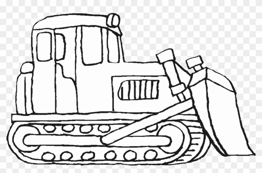 Construction Vehicles Coloring Pages Bulldozer Bulldozer Printable Coloring Pages Hd Png Download 930x570 6175533 Pngfind