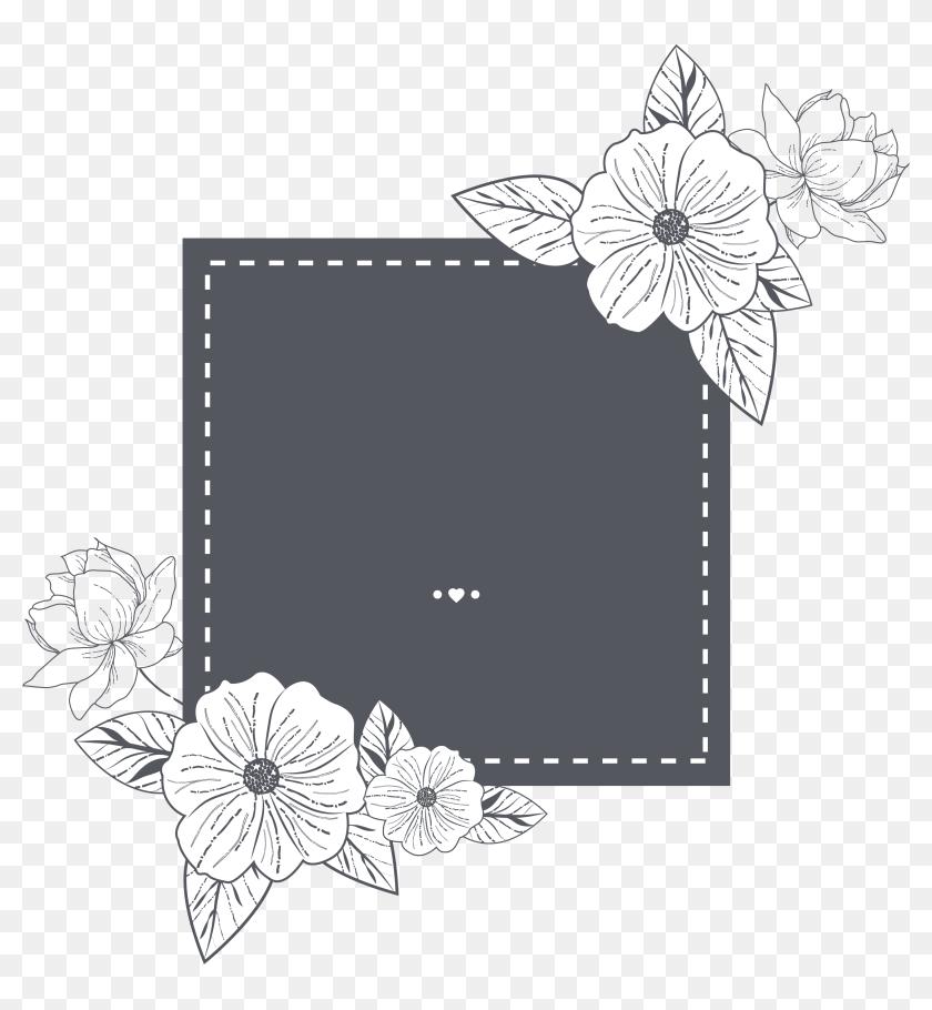 wedding invitation card template floral