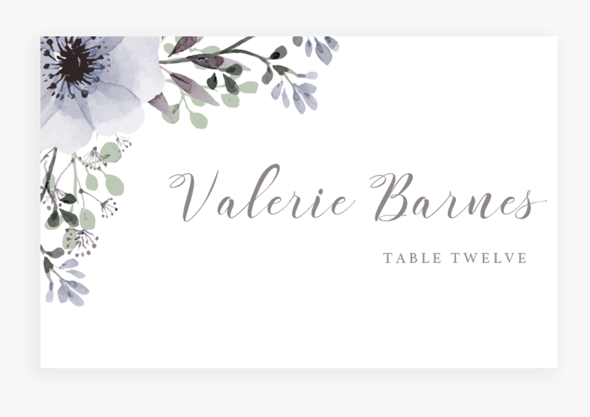 place cards wedding invitation template