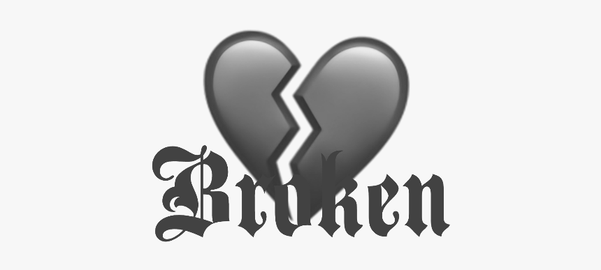 Transparent Heartbreak Emoji Png Heart Broken Emoji Ios Png Download Transparent Png Image Pngitem
