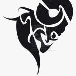 Tribal Dodge Ram Logo Tribal Ram Head Hd Png Download Transparent Png Image Pngitem
