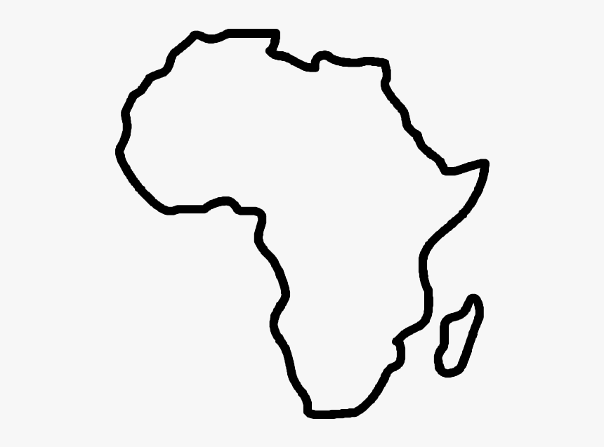 Clip Art Africa Outline Map Of Africa Clipart Hd Png Download Transparent Png Image Pngitem