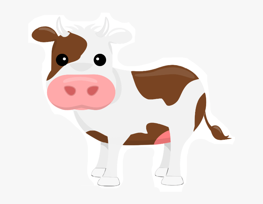 Holstein Friesian Cattle Clip Art Dairy Cattle Portable Transparent Background Cow Clipart Hd Png Download Transparent Png Image Pngitem
