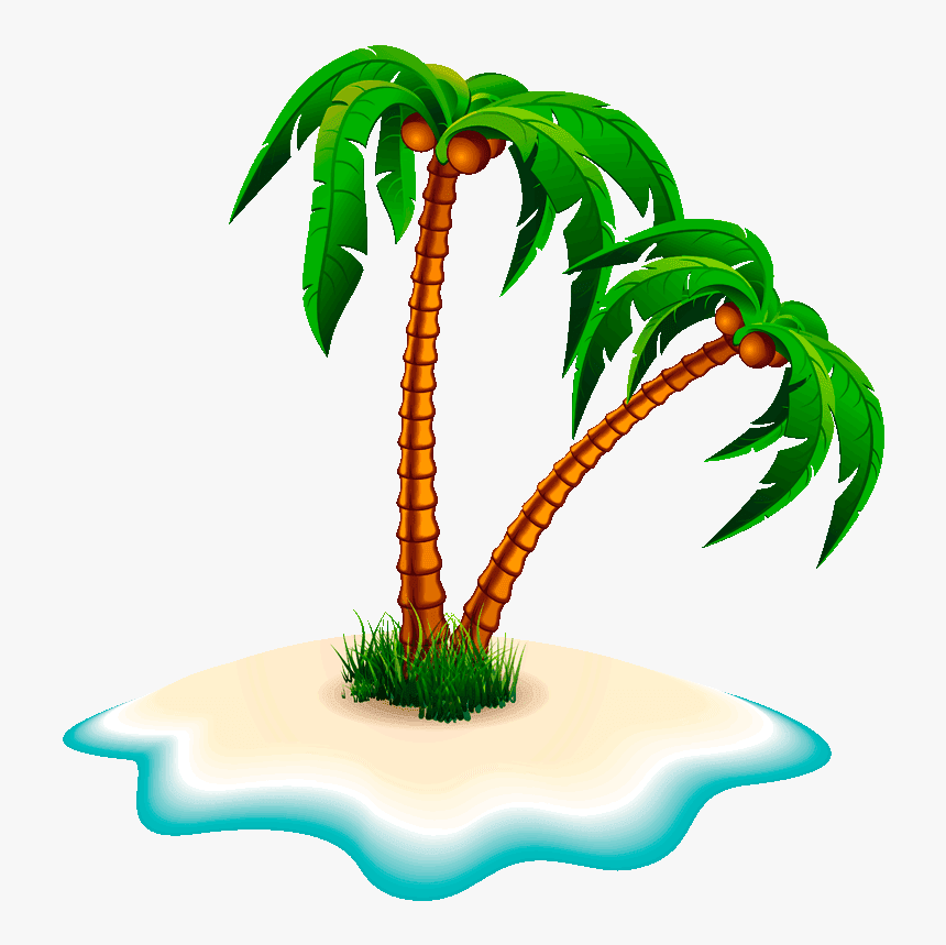 Tree Clipart Coconut Clip Art Coconut Tree Png Transparent Png Transparent Png Image Pngitem