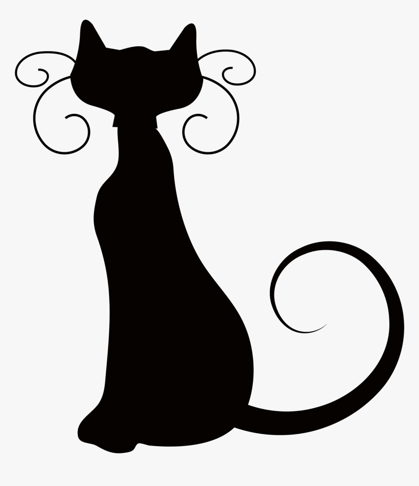 Cat black and white cat clipart black and white danaami2 top. Clipart Cat Halloween Halloween Cat Clipart Black And White Hd Png Download Transparent Png Image Pngitem