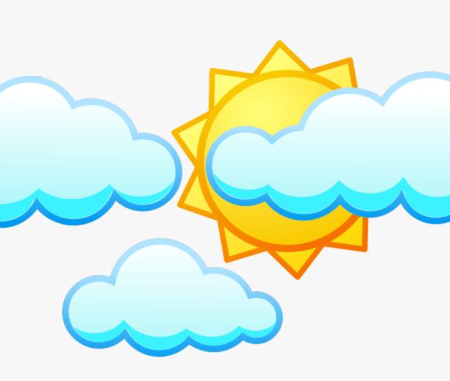 Clipart Awan Dan Matahari Kartun Hd Png Download Transparent