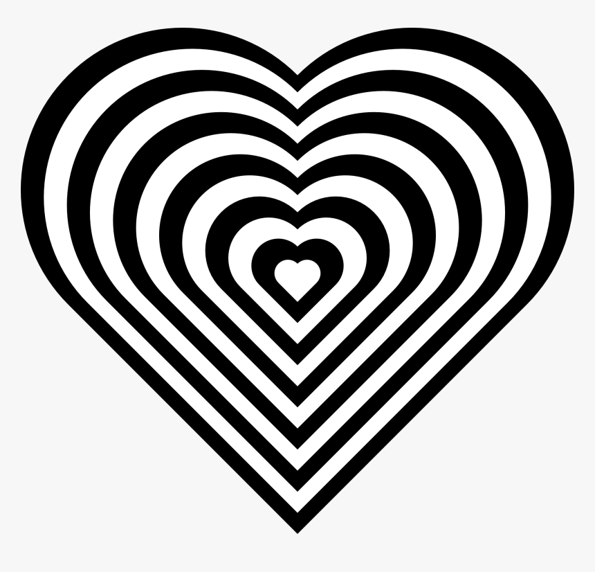 Love Heart Coloring Pages Hd Png Download Transparent Png Image Pngitem