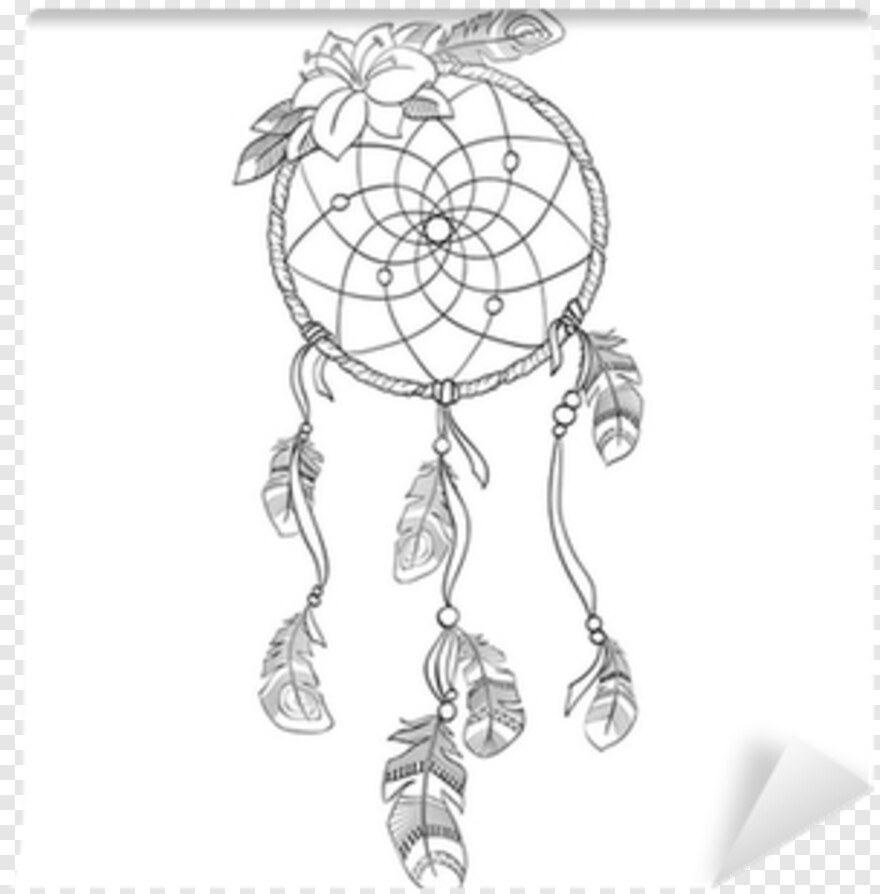 Dream Catcher Vector Horse Dream Catcher Coloring Pages Transparent Png 400x400 3980368 Png Image Pngjoy