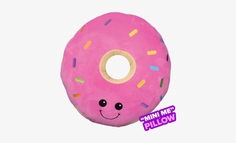 mini sprinkled donut pillow quality