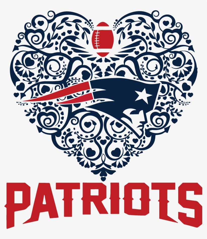 Download Patriots Football Sport Heart Dxf Svg - New England ...