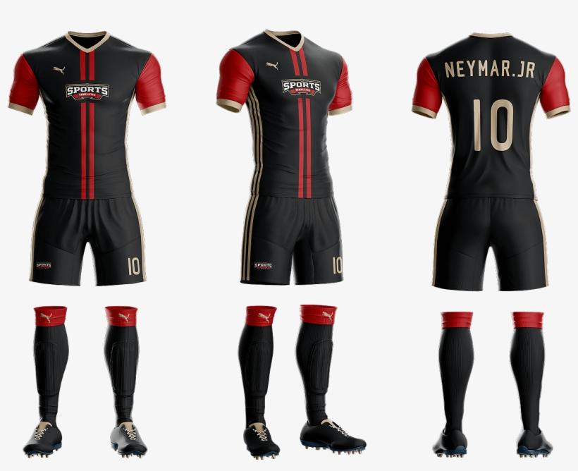Download Goal Soccer Kit Jersey Uniform Template Psd - Mockup ...