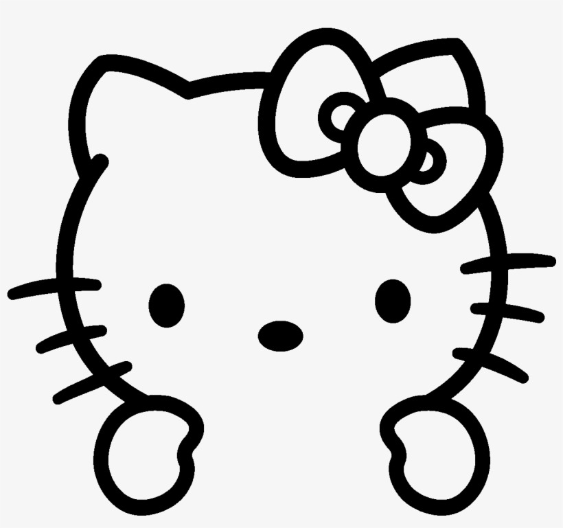 Png Love Hello Kitty Coloring Pages Free Transparent Png Download Pngkey