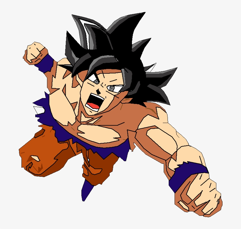 Imagenes Para Dibujar A Goku Ultra Instinto