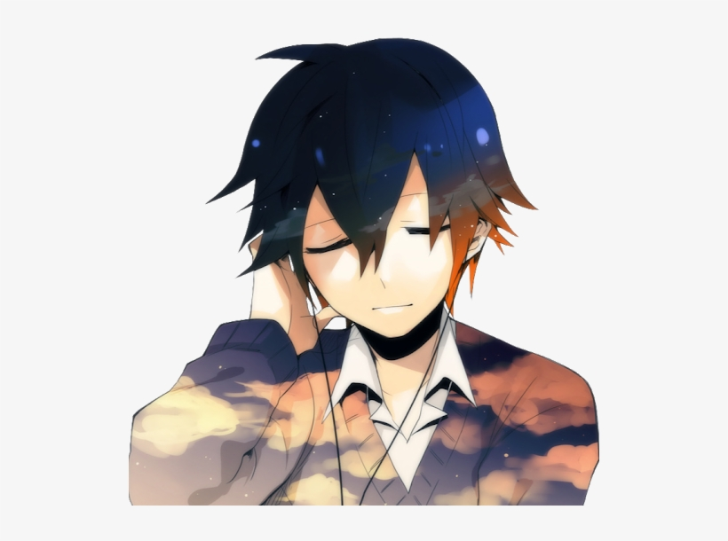 Photo Anime Music Wallpaper Male Free Transparent Png Download Pngkey
