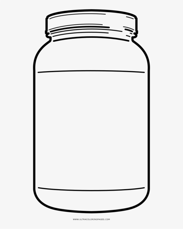 Complete Mason Jar Coloring Page Ultra Pages On - Mason Jar - Free