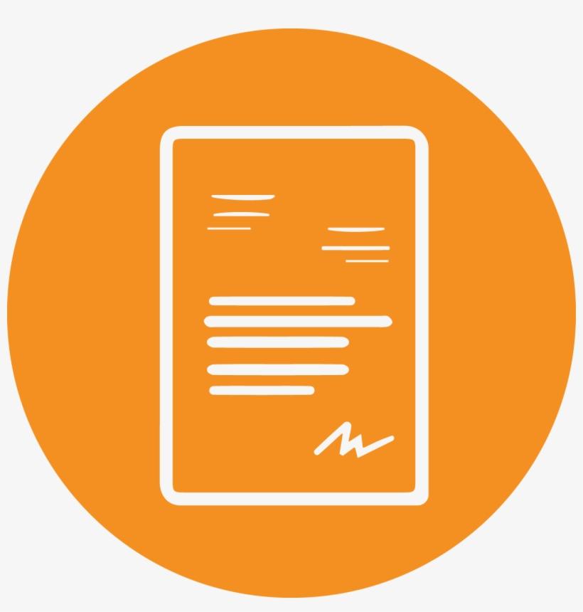 attendance invitation icon png orange