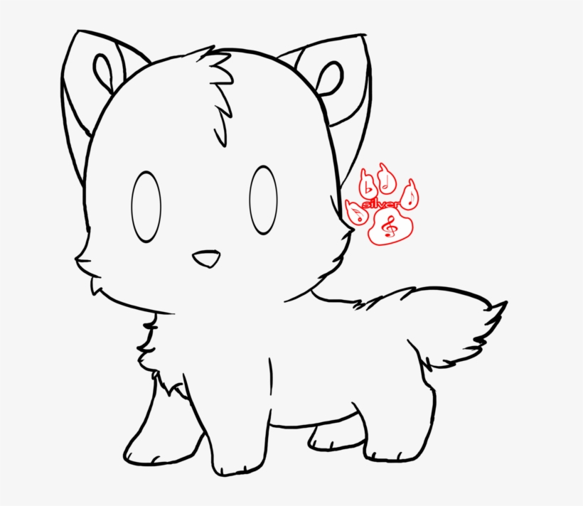 Wolf Drawing Cute Drawing Free Transparent Png Download Pngkey