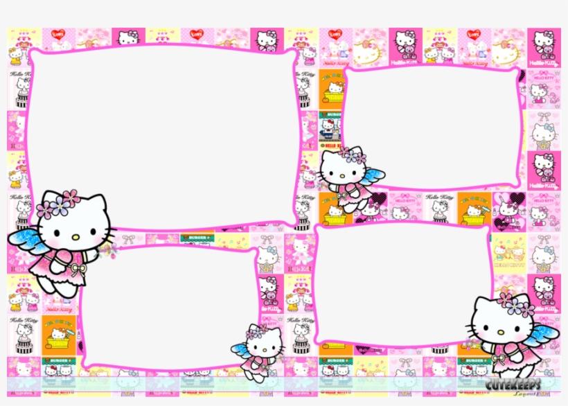Hello Kitty 4r Photobooth Template Hello Kitty Frame