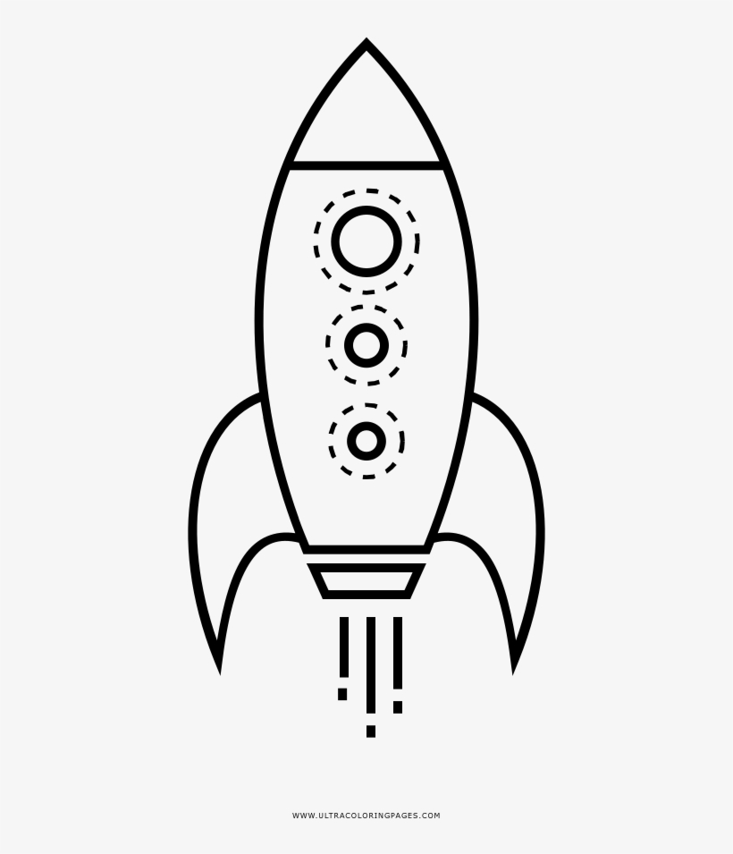Rocketship Coloring Page Buzz Lightyear Rocket Drawing Free Transparent Png Download Pngkey