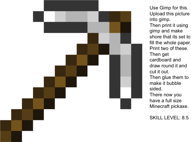 Download Minecraft Pickaxe Drawing At Getdrawings - Minecraft Iron