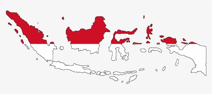 Macam macam warna dan artinya pada simbol peta materi ajar sd. Peta Indonesia Merah Putih 784x297 Png Download Pngkit